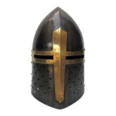 Armor Venue - Sugarloaf Helmet Antique - Metallic - One Size