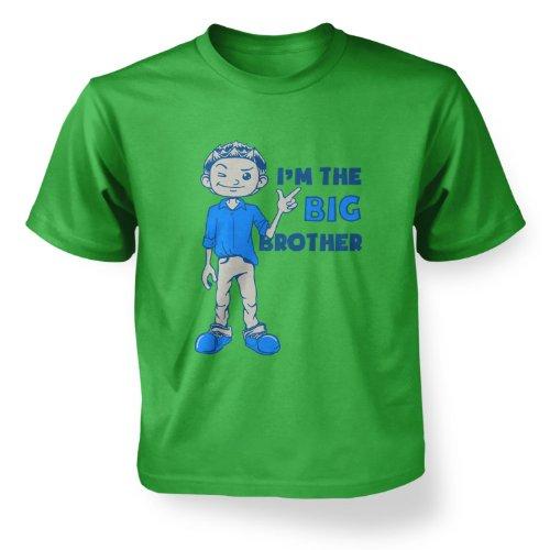 I'm The Big Brother Boys T-shirt - Irish Green L (9-11) (Nine Irish Brothers compare prices)