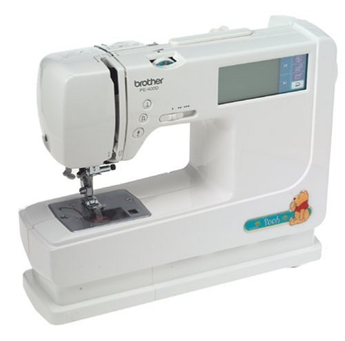 Brother PE-400D Combination Sewing and Embroidery Machine