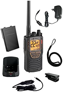 Cobra MR HH425LI VP 15-Channel VHF GMRS Two-Way Marine Radio by Cobra