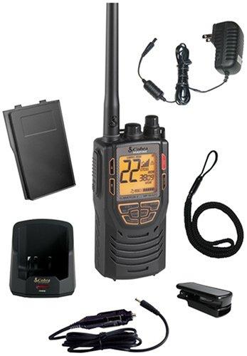 Cobra MR HH425LI VP 15-Channel VHF/GMRS Two-Way Marine Radio