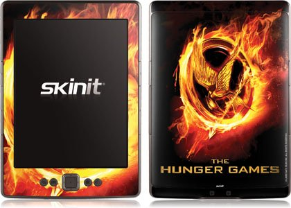 Skinit The Hunger Games Logo Vinyl Skin for Amazon Kindle 4 WiFi