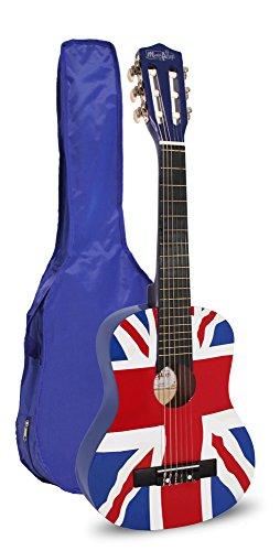 Music Alley Chitarra da bambino solo chitarra 30Inch GB FLAG