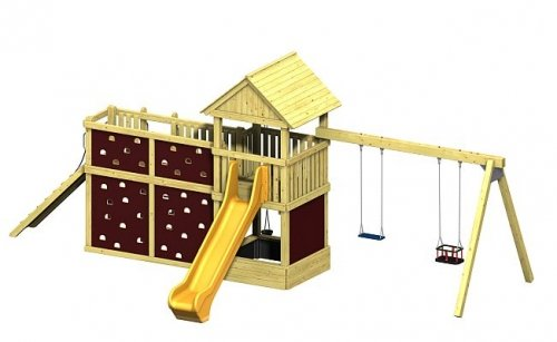 Spielturm Winnetoo Pro Variation 7 - öffentliche Spielanlagen