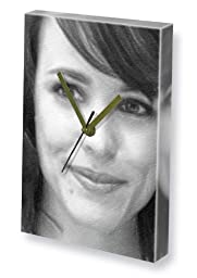 RACHEL McADAMS - Canvas Clock (LARGE A3 - Signed by the Artist) #js001