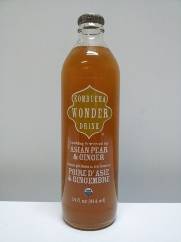 Kombucha Wonder Drink Pear/Ginger (12X14Oz )