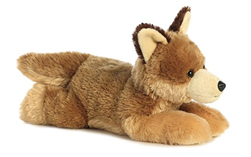 Aurora World Flopsie Animal Plush, Coyote