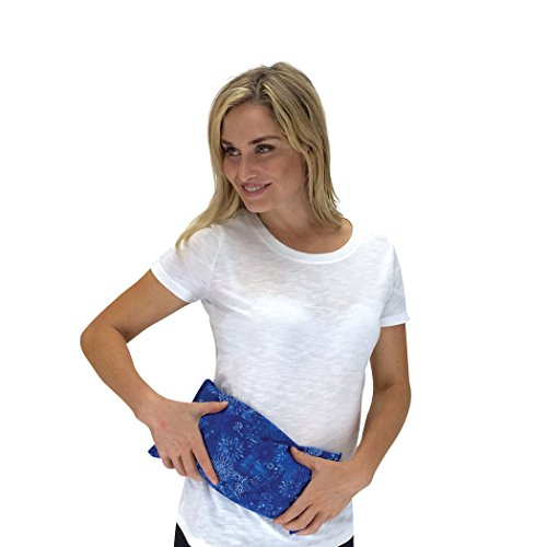 Nature Creation- Basic Herb Pack Heating Pad- Aromatherapy - Hot and Cold Therapy (Blue Flowers) (Herbal Microwaveable Heat Pad compare prices)