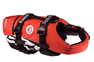 EzyDog Doggy Flotation Device (DFD), Large, Red