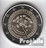 monedas para coleccionistas: Eslovenia artículo: 2010 Stgl./unzirkuliert Stgl./unzirkuliert 2010 2 Euro botánico jardín Ljubljana