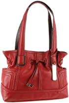 Hot Sale Tignanello Super Stitch Shoulder Bag,Glam Red,One Size