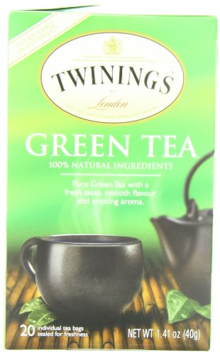 Twinings Green Tea, 1.41 Ounce Box