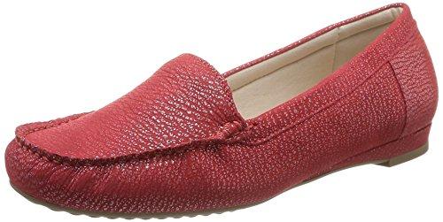 Luxat - Indice, Mocassini da donna, rosso (rouge clair), 41
