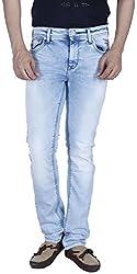 INTEGRITI Men'S Slim Fit Jeans (Bold-Kj-106.S Lnft Ice_36, Blue, 36)