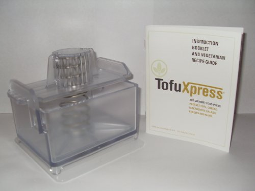 Vegan kitchen tools: Gourmet Tofu Press / Marinating Dish