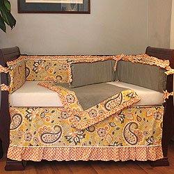 Paisley Crib Bedding Sets 174258 front