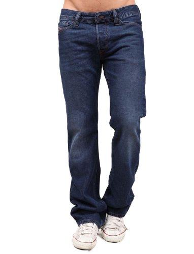 Diesel Viker 1rki8 Straight Blue Man Jeans Men - W34 L32