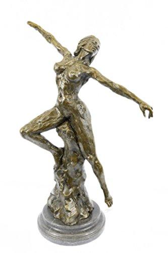 statua-di-bronzo-sculturaspedizione-gratuitaerotic-sensuale-rodin-walking-nudo-femminile-musee-eroti
