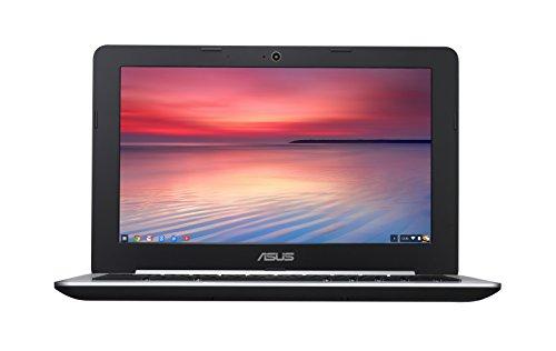 """Asus Chromebook C200MA-KX017 PC Portable 11.6"""" Noir (Intel Celeron, 2 Go de RAM, SSD 16 Go, Chrome OS, Garantie 2 ans)"""