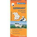Germany Southeast, Bavaria Regional Map 546 (Michelin Regional Maps)
