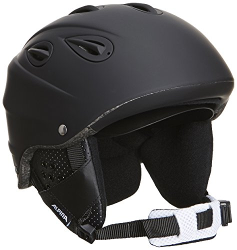 ALPINA Skihelm Grap Cross, Black Matt, 58-61, 9057333