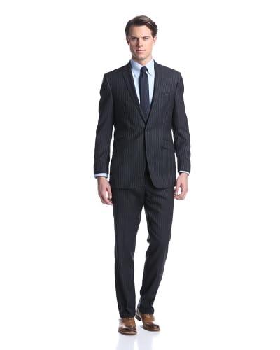 Ben Sherman Men's Wide Stripe Suit