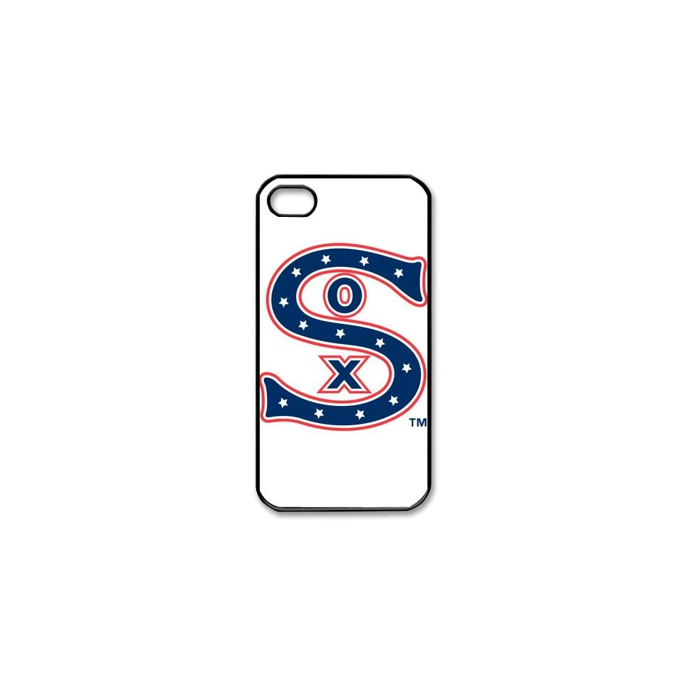 DIYCase MLB Series Chicago White Sox Unique Design Back Proctive Custom Case Cover for iPhone 4 4S 4G   1382517 Cell Phones & Accessories