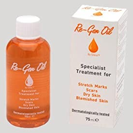 Re-gen Oil Specialist Treatment for Stretch Marks, Scars, Dry Skin and Blemished Skin 75ml