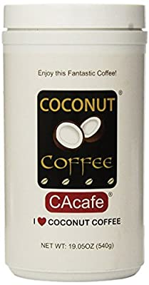 Cacafes Coconut Coffee in Jar #28528 (Cane Sugar Added)(Pack of 2) from CAcafe