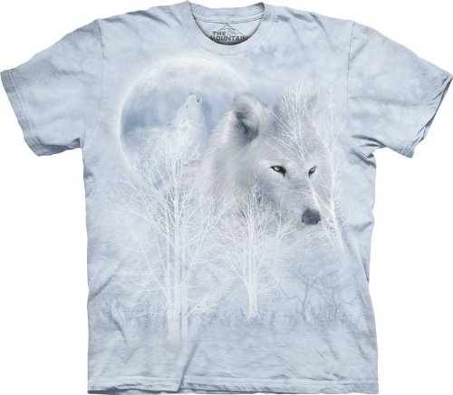 The Mountain White Wolf Moon Men's T-shirt mountain force пуловер joy shirt жен 42 cheddar marigold
