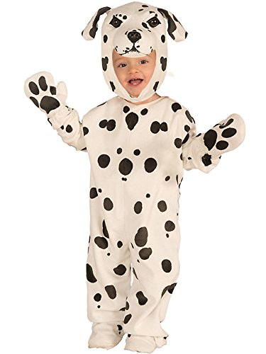 Plush Dalmatian Kids Costume