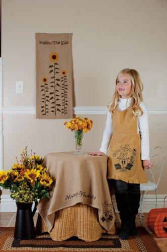 Scarecrow Full Length Children'S Size Halloween Harvest Kitchen Apron front-466477