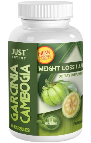 ★ New And Improved ★ Just Potent Pharmaceutical Grade Garcinia Cambogia ★ 65% Hca ★ 1600Mg Strong ★ 60 Capsules ★ Garcinia Cambogia Extract And Potassium Only (Best Combination)