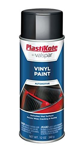 PlastiKote 411 Black Vinyl Paint, 12 oz. (Interior Spray Paint compare prices)