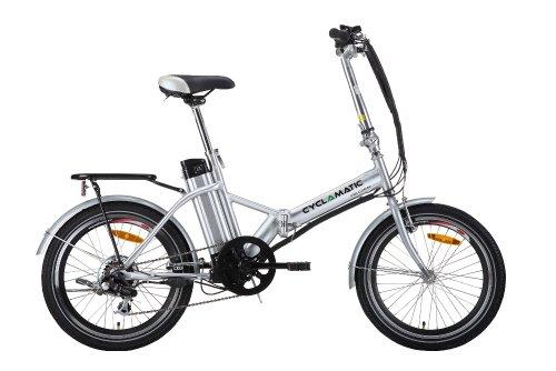 Cyclamatic Bicycle Electric Foldaway Bike Review Folding