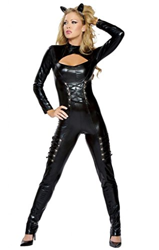 Sexy Deluxe Catsuit Girl Halloween Costume