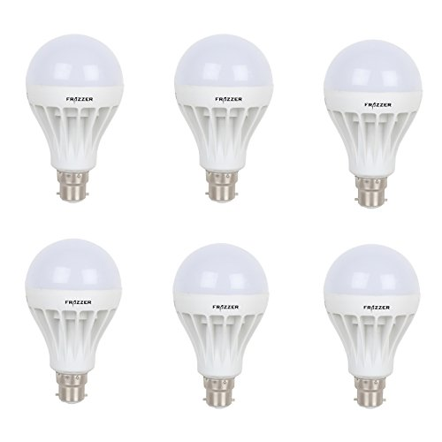5W LED Bulb (White, pack of 6)