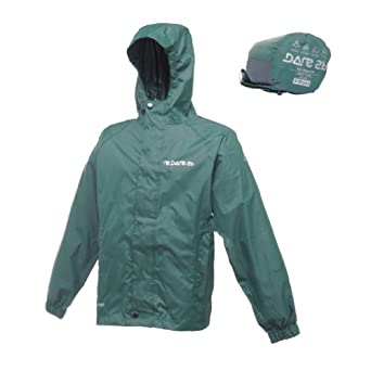Dare 2b Kids Packster Jacket - Size: 3-4 Years, Color: Bottle Green
