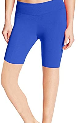 4How Women's Tight Active Shorts Sapphire