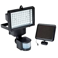 60 LED Super Bright Solar Security Light Floodlight With PIR Motion Sensor by Solalite