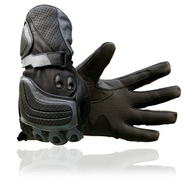 New Cowhide Leather Motorbike Motorcycle Gloves Large [Misc.]