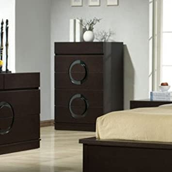 J&M Furniture Zen Chest in Black