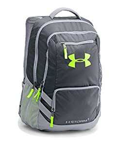 Under Armour Storm Hustle II Backpack, Stealth Gray (008), One Size