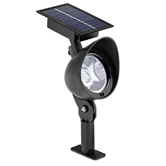 malibu lz415 solar plastic flood landscape light with 3