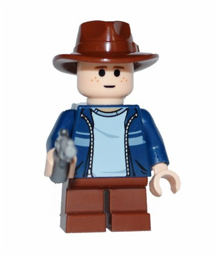 Lego Carl Grimes Figure (Custom)- The Walking Dead - 1