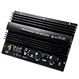 Semoic 12V 1000W Powerful Bass Subwoofer 105Dba Mono Car Audio High Power Amplifier Amp Board Thermal Overload Protect Powerful Bass (Color: Black)