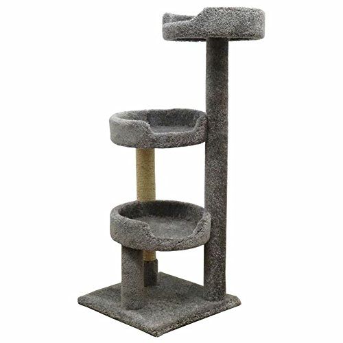 New Cat Condos Premier Kitty Pad Cat Tree, Gray