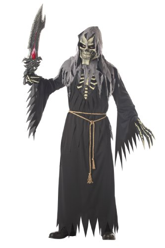 California Costumes Men's Angel Of Death Without Wings Costume