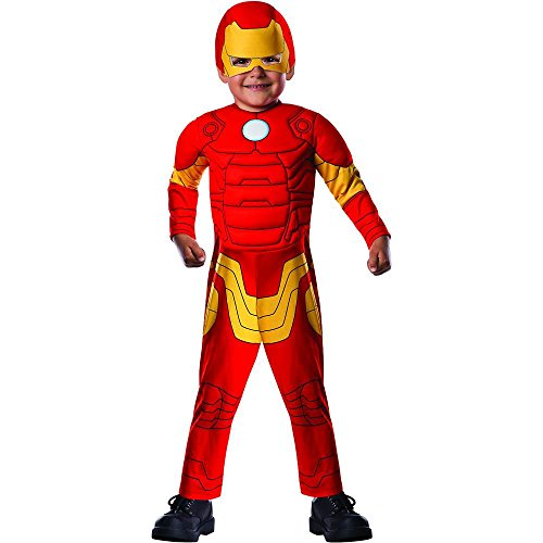 Avengers Assemble: Iron Man Muscle Chest Toddler Costume