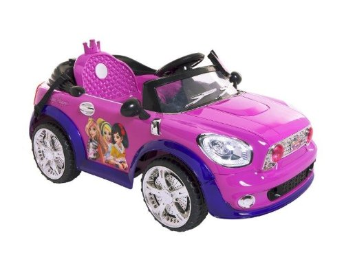 Dynacraft Fairy Tale High Coupe Ride On, Purple/Black
